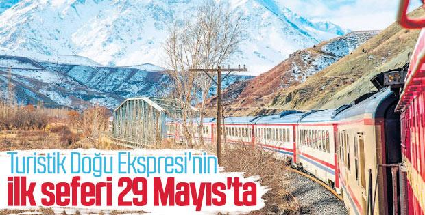 Ankara-Kars hattında yolculuk başlıyor