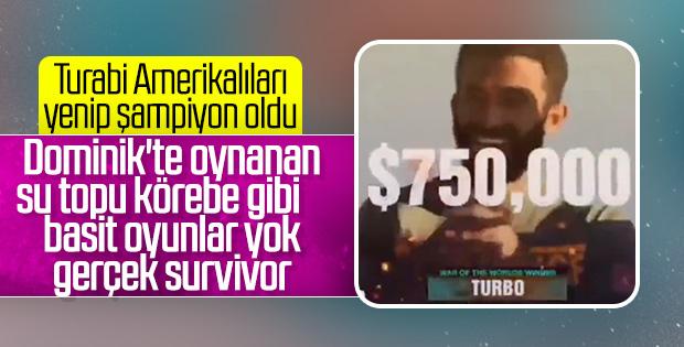 Turabi Çamkıran 750 bin dolarlık ödülün sahibi oldu