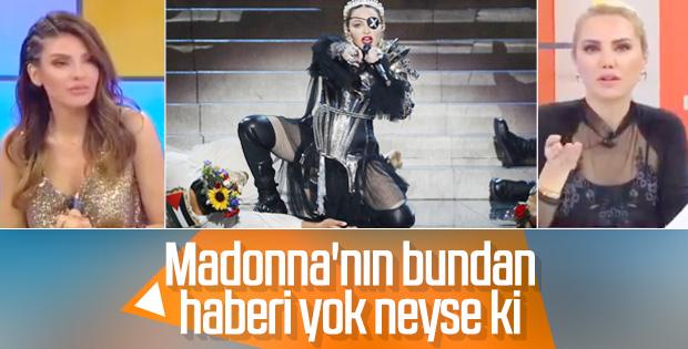 Ece Erken, Madonna'nın Eurovision'da yarıştığını sandı