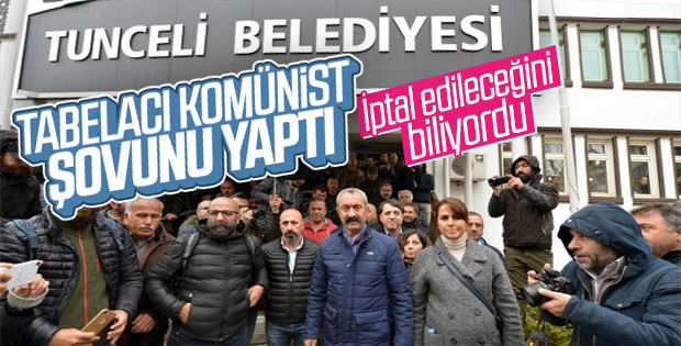 Erzincan İdare Mahkemesi 'Dersim olmaz' dedi
