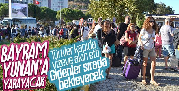 Yunanistan kapıda vize uygulamasını başlattı