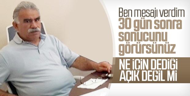 Terörist başı Öcalan'ın avukatlarından ikinci açıklama