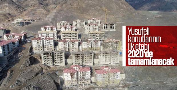 Yusufeli Barajı'nın yüzde 27,5'i tamamlandı