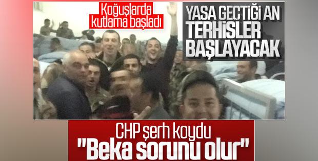 CHP erken terhise karşı çıktı