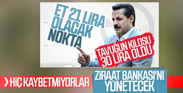 Faruk Çelik, Ziraat Bankası'na yönetici oldu