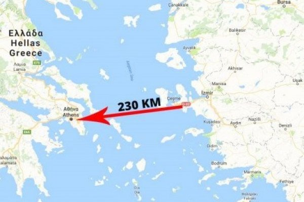 BORA'nın atışı Yunanistan'ı korkuttu