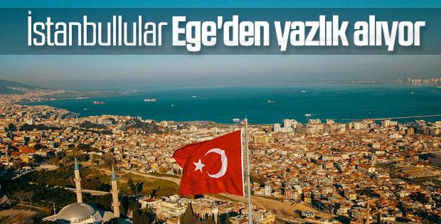 İstanbullu Ege'ye akın ediyor