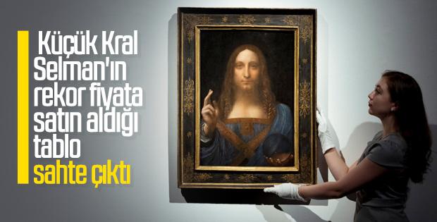 Prens Selman'ın 450 milyon dolarlık tablosu sahte çıktı
