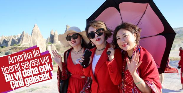 Çin'den gelen turist sayısı artacak