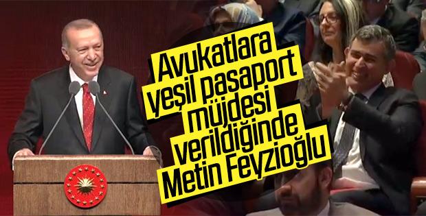 Avukatlara yeşil pasaport hakkı