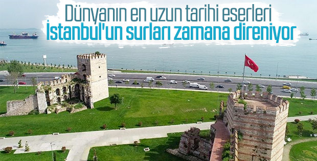 Tarih boyunca iki kez aşılabilen İstanbul surları