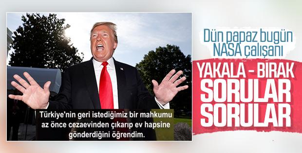 Trump, Serkan Gölge'yi geri aldığı için memnun