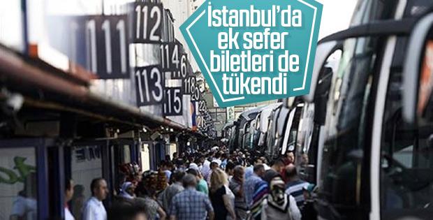 İstanbul'da ek seferler için bile otobüs kalmadı
