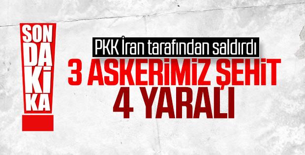 Türkiye-İran sınırında üç askerimiz şehit oldu