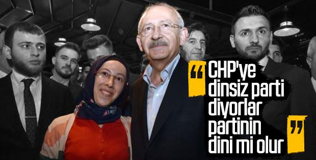 Kemal Kılıçdaroğlu dinsiz parti eleştirisine yanıt verdi