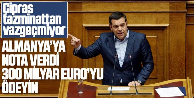 Yunanistan Almanya'dan tazminat istemeye devam ediyor