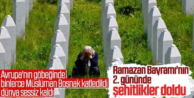 Bosna Hersek şehitlerini andı
