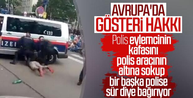 Avusturya polisinin işkence görüntüleri