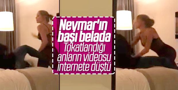 Neymar'ın yatak odası görüntüsü olay yarattı