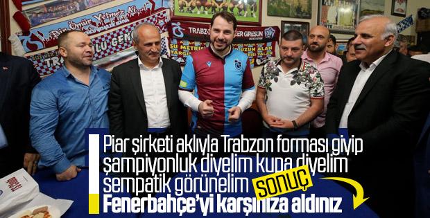 Berat Albayrak'ın açıklamalarına Fenerbahçe cevap verdi