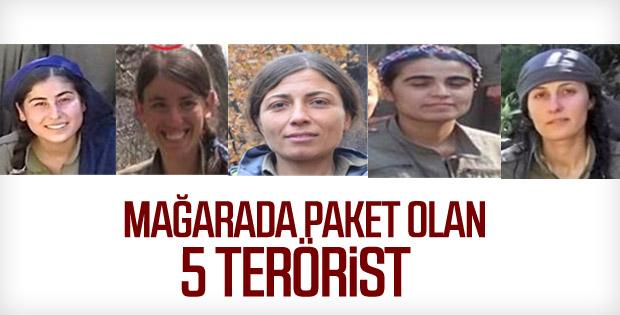 Ölen teröristlerin kimlikleri belli oldu