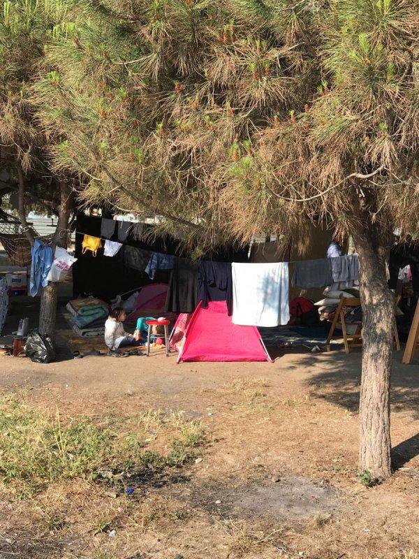 Mudanya Belediyesi Suriyelileri sahilden uzaklaştırdı