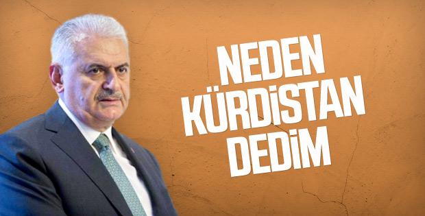 Binali Yıldırım'a Kürdistan ifadesi soruldu