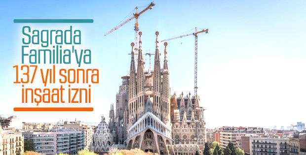 La Sagrada Familia 7 yıl içinde tamamlanacak