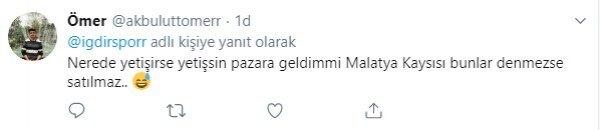 Iğdırspor'un kayısı paylaşımı olay yarattı