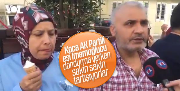 Karı-kocanın İstanbul seçimleri tartışması