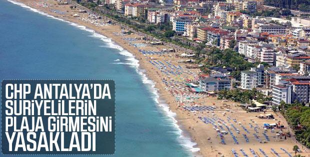 Suriyeliler Gazipaşa'daki plajlara giremeyecek