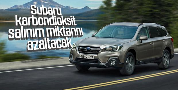 Subaru'dan çevre dostu proje