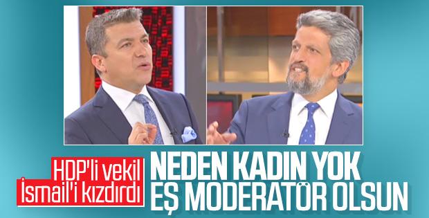 HDP'li vekil ile Küçükkaya arasında moderatör tartışması