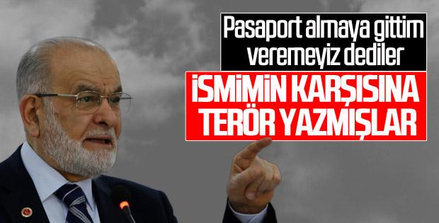 Temel Karamollaoğlu: Bana pasaport verilmedi