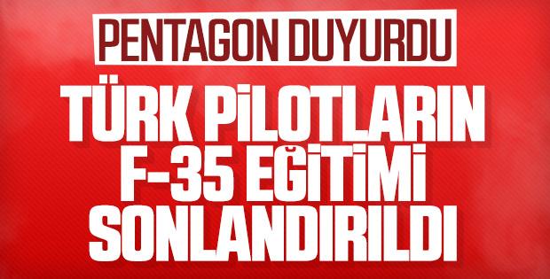 Türk pilotlarının F-35 eğitimi sonlandırıldı