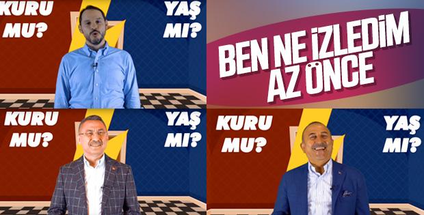 AK Parti'den bakanlara gayri resmi sorular