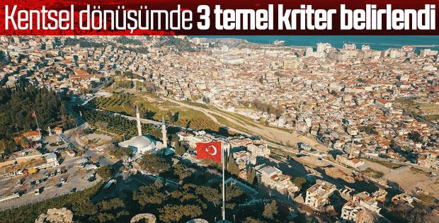 Türkiye kentsel dönüşüme hazırlanıyor