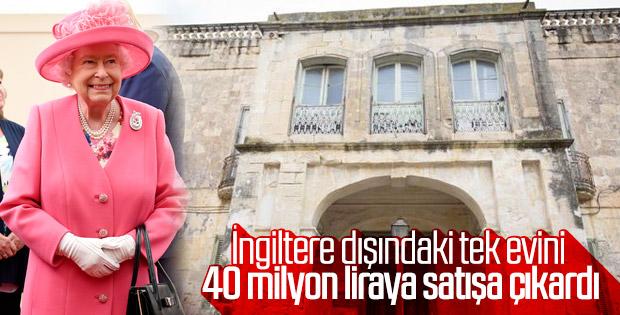 Kraliçe Elizabeth Malta'daki evini satıyor