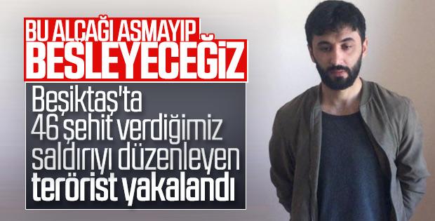 Vodafone Park saldırısını düzenleyen terörist yakalandı
