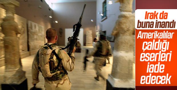 ABD Irak'tan çaldığı tarihi eserleri iade edecek