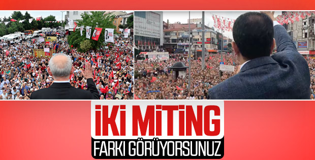 İmamoğlu ile Kılıçdaroğlu seçim çalışmasında