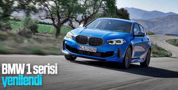 BMW'nin yeni 1 serisi tasarımıyla dikkat çekiyor