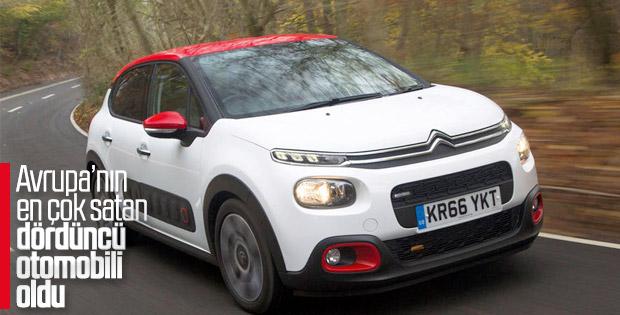 Citroën C3 satış rekoru kırdı
