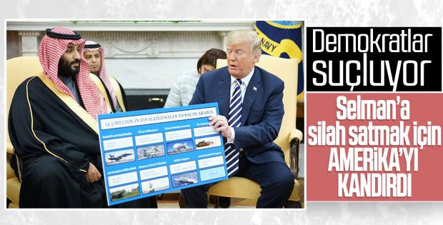 Trump'a Demokratlar'dan silah tepkisi