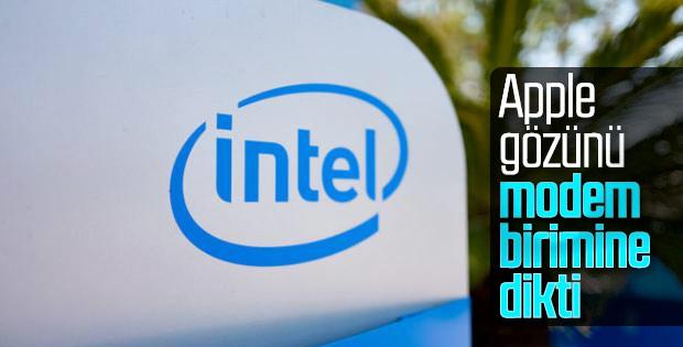 Apple Intel'in modem birimini satın almak istiyor