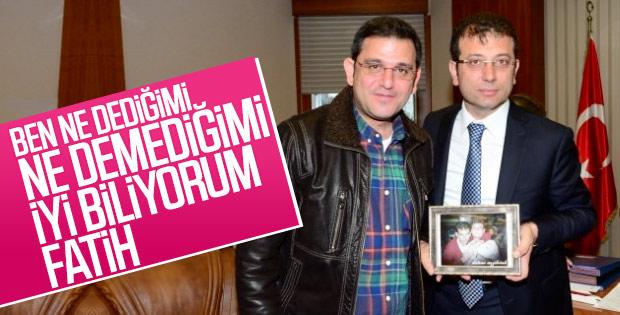 Ekrem İmamoğlu, Fatih Portakal'a cevap verdi
