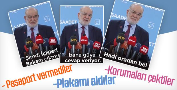 Bakan Soylu ile Karamollaoğlu arasında pasaport polemiği