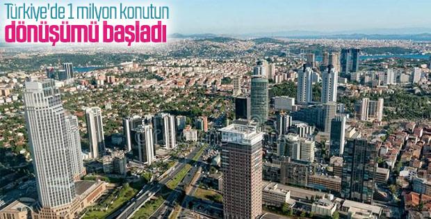 Türkiye genelinde kentsel dönüşüm hız kazandı