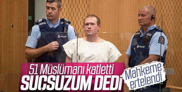 Camilere saldıran terörist suçsuz olduğunu savundu