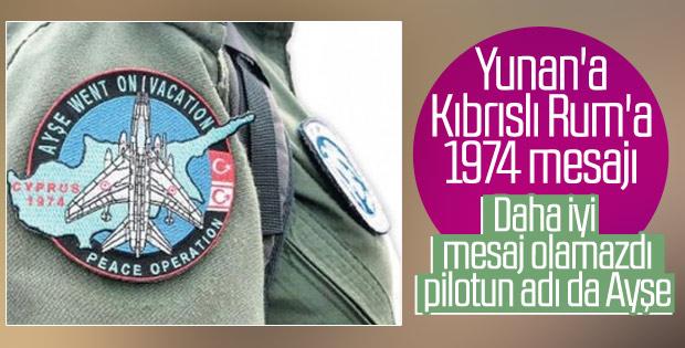 Doğu Akdeniz'de Türk askerinden Rumlara mesaj